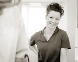 Cindy Moonen in actie bij EMMA Tandartsen Brunssum